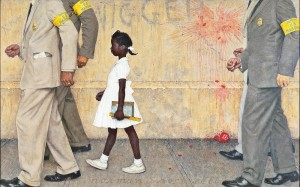 Norman Rockwell's The Problem We All Live With (1964)